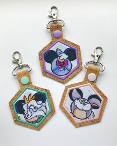 Mouse Buddy Key Chain