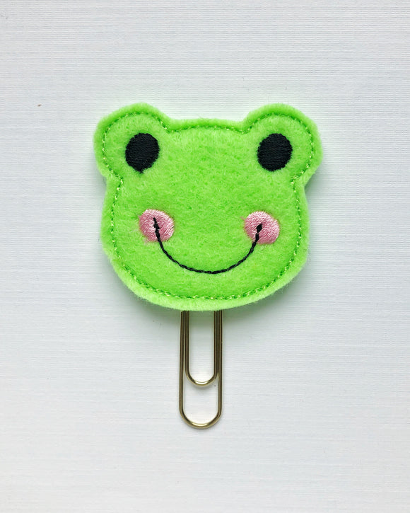 Froggy Planner Clip