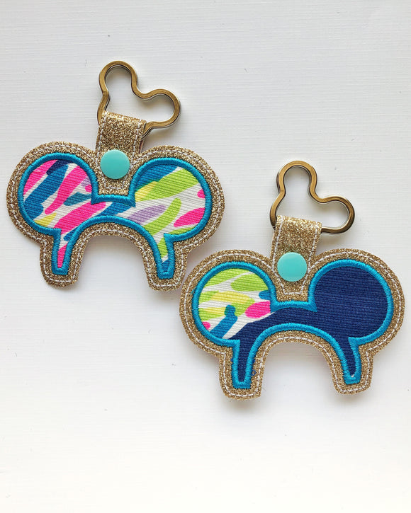 Lilly Park Ear Key Chain