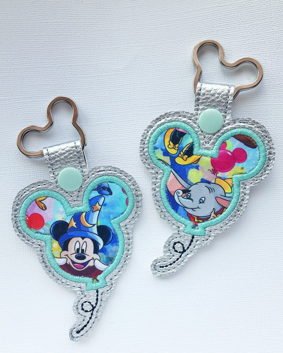 Balloon Mouse Key Chain