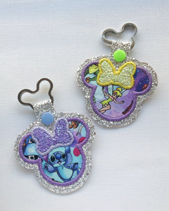 Friendly Faces Miss Mouse Key Chain