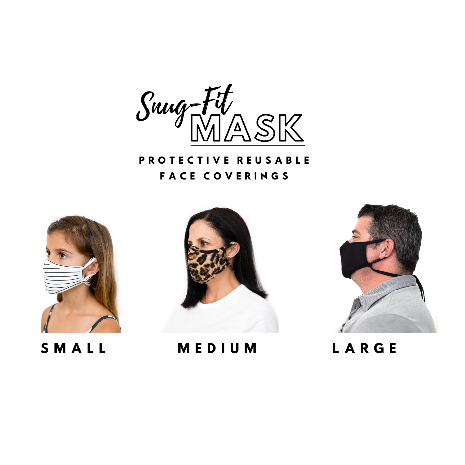 How to Measure your Snug-Fit Mask Size at Home