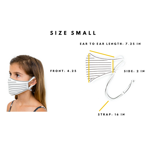 CHILD SIZE FACE MASK GUIDE