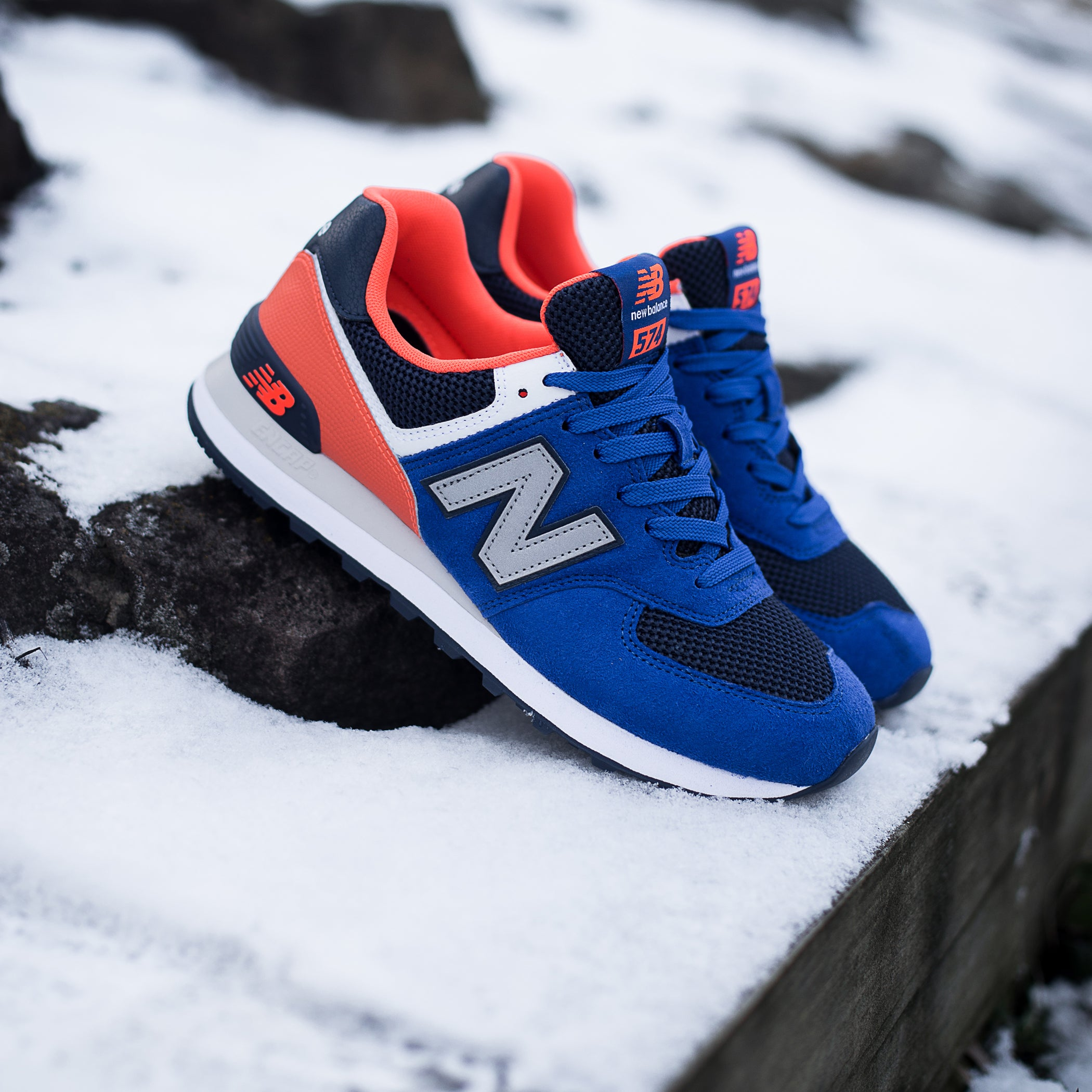 New Balance ML574SRD Pebbled Sport