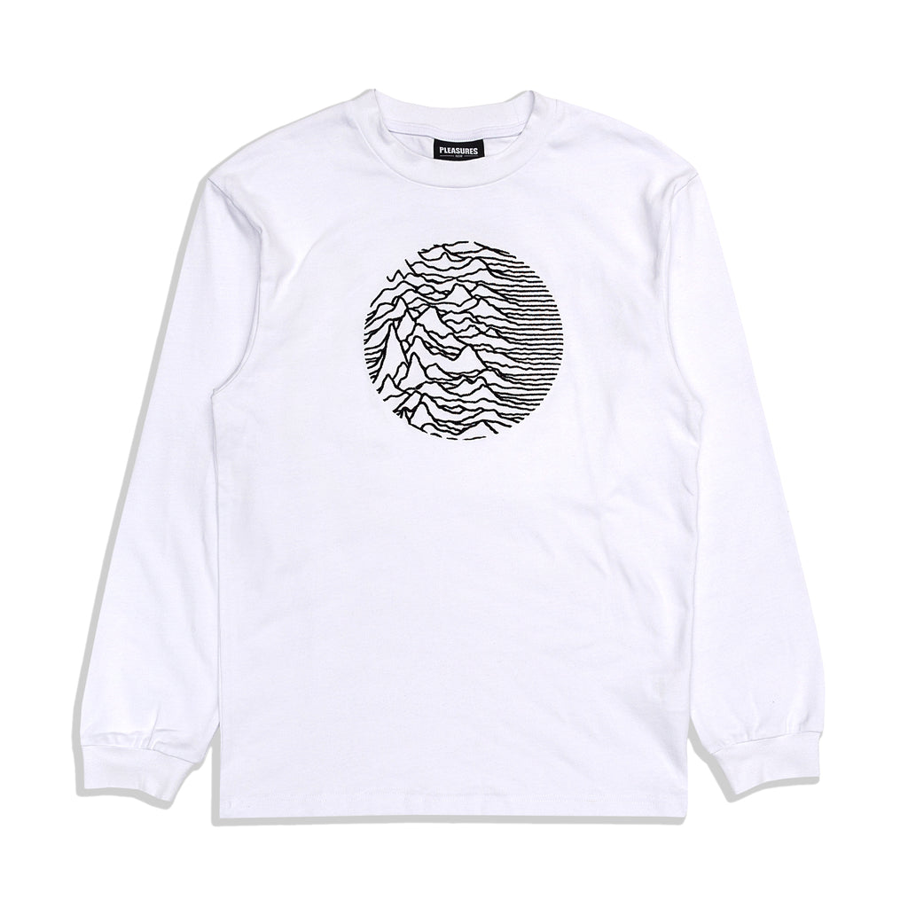 Pleasures - Lost Control Embroidered L/S Tee