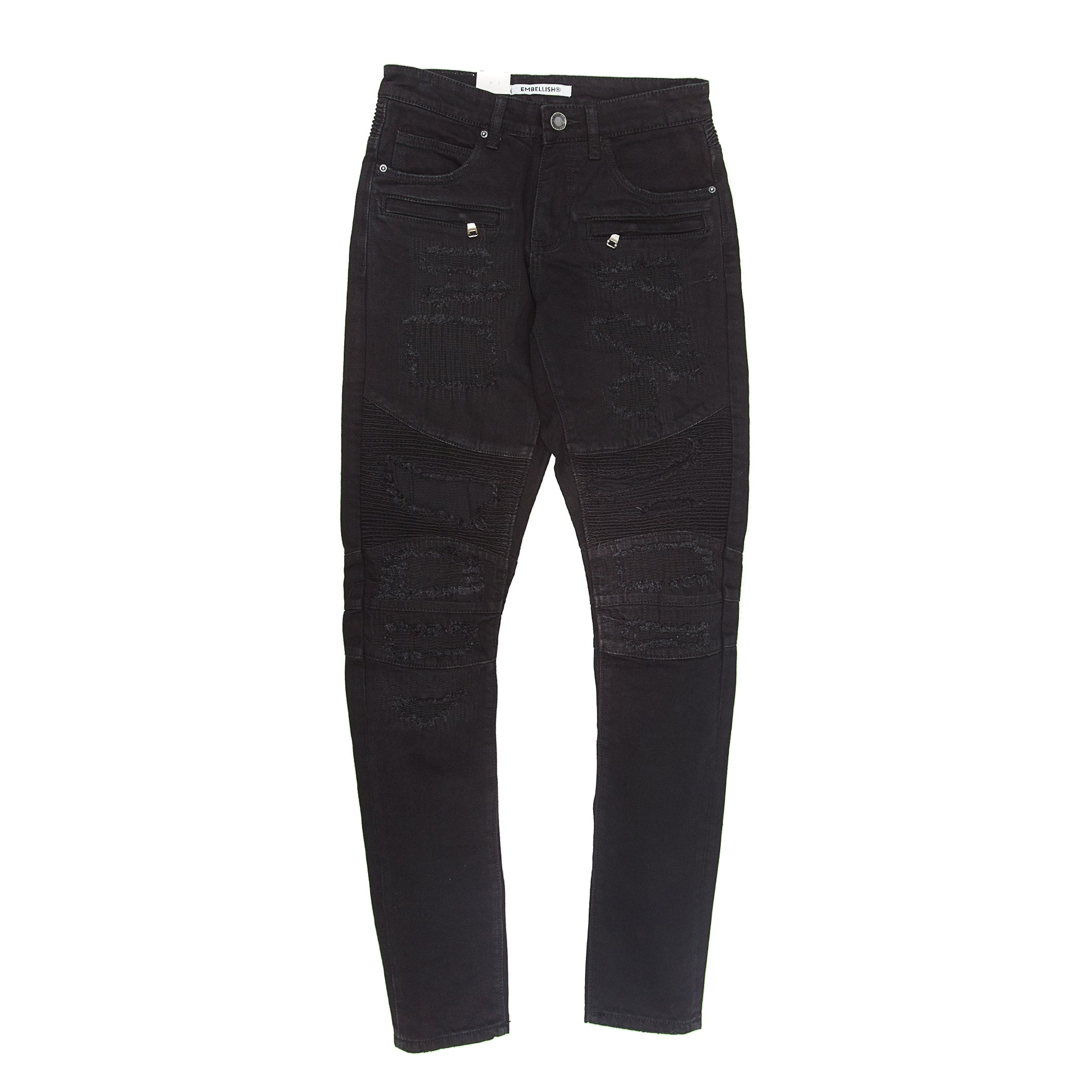 Embellish -  Parker Biker Denim