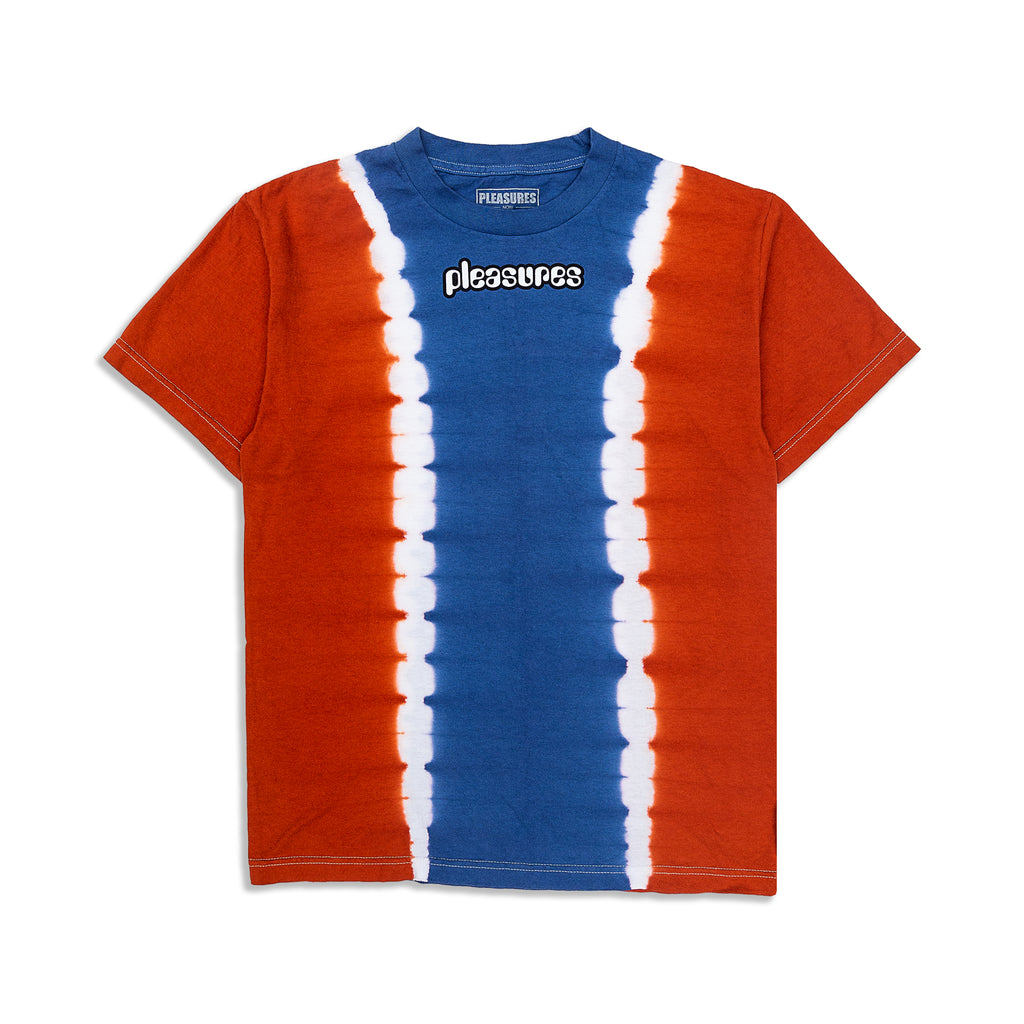 Pleasures - Gum Logo Split Dye T-Shirt