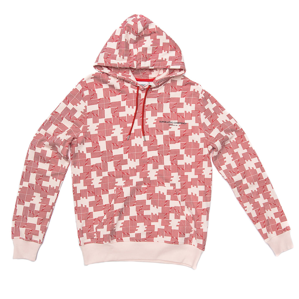 WeSC - Mike Puzzle Check Hoodie