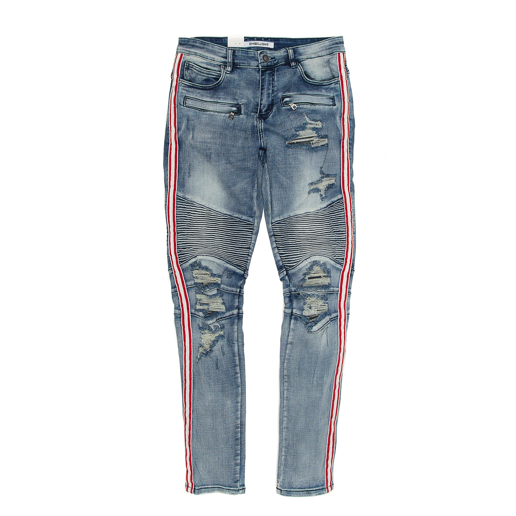 Embellish - Khalil Biker Denim