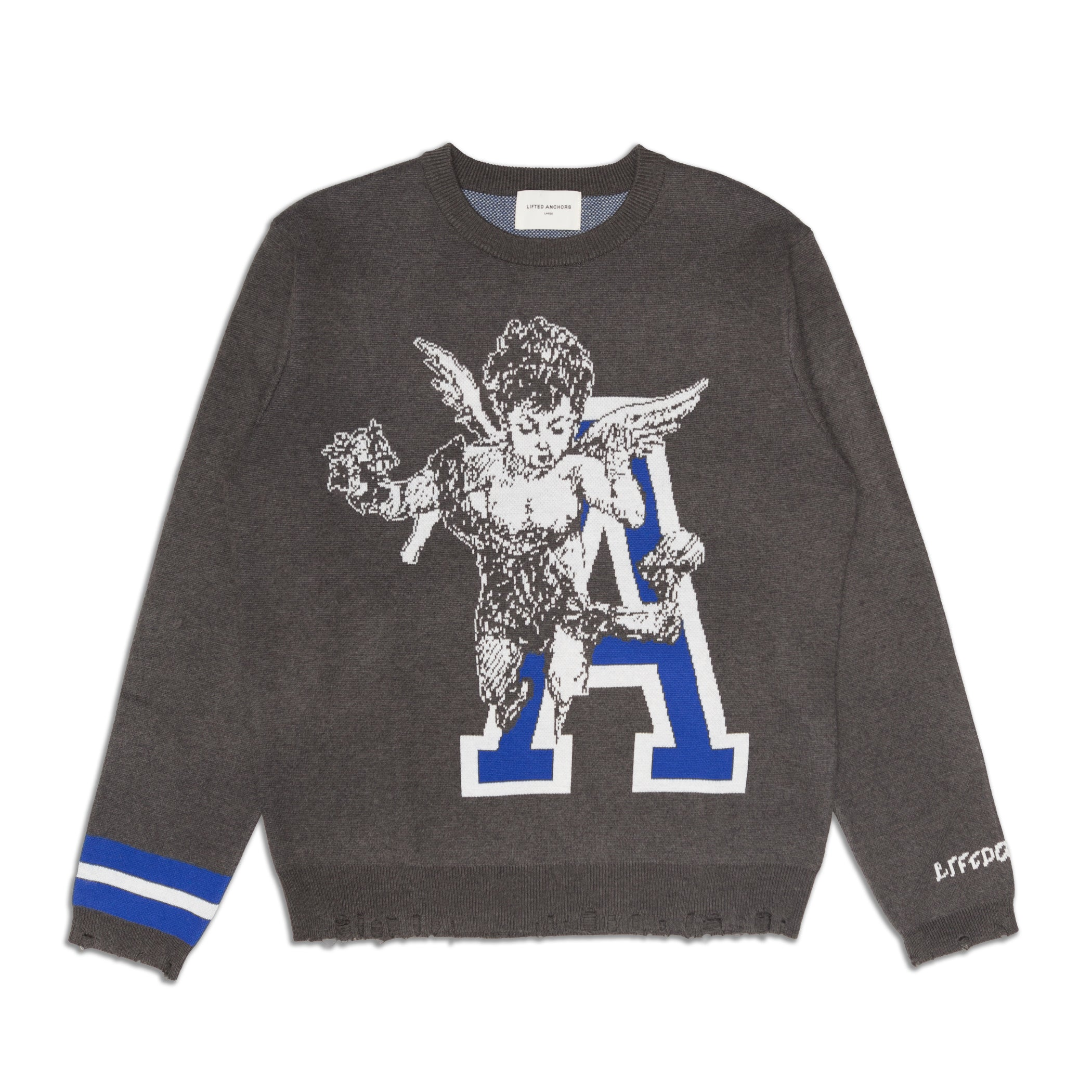 Lifted Anchors - Cornell Sweater