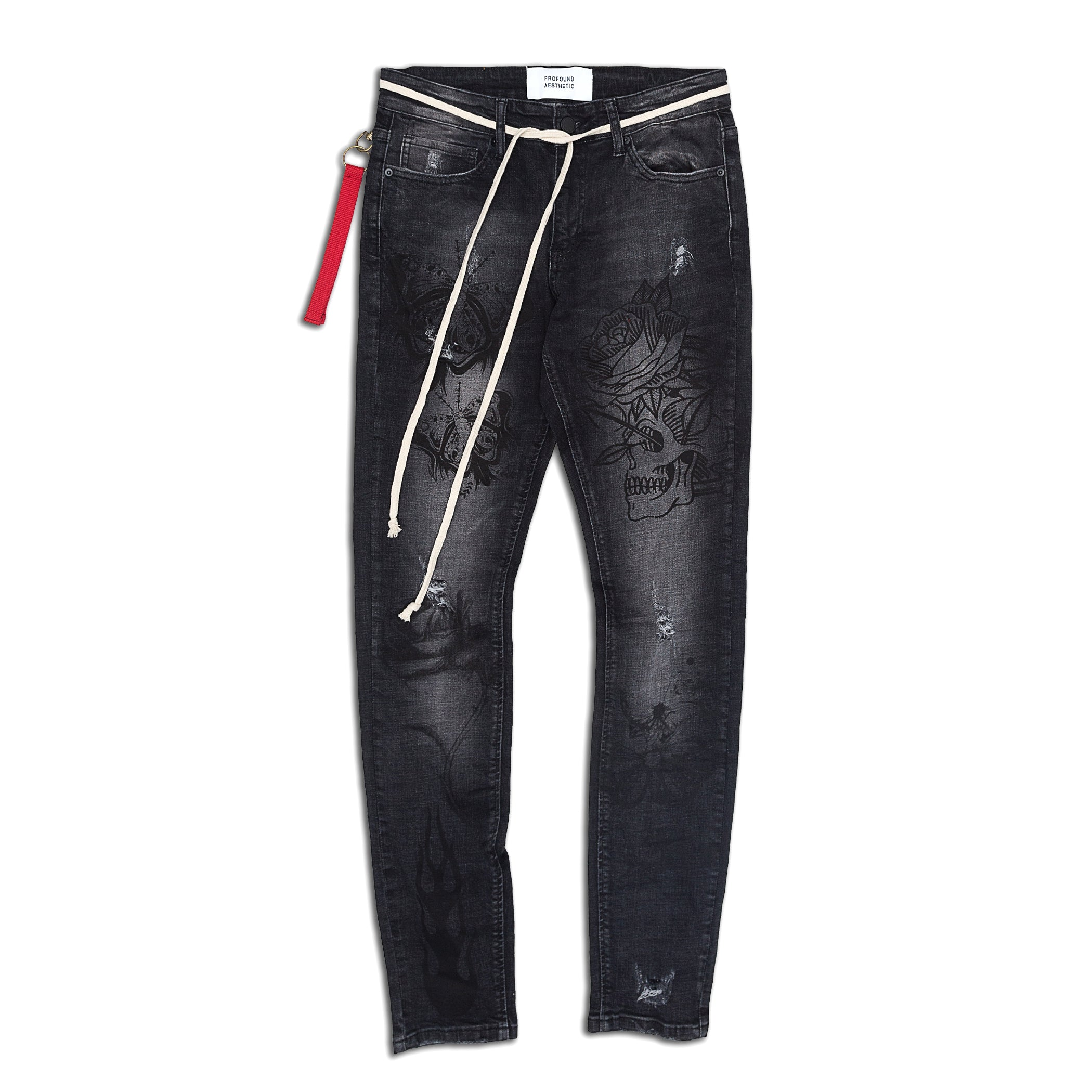 Profound Aesthetic - Truth in Flames Jeans