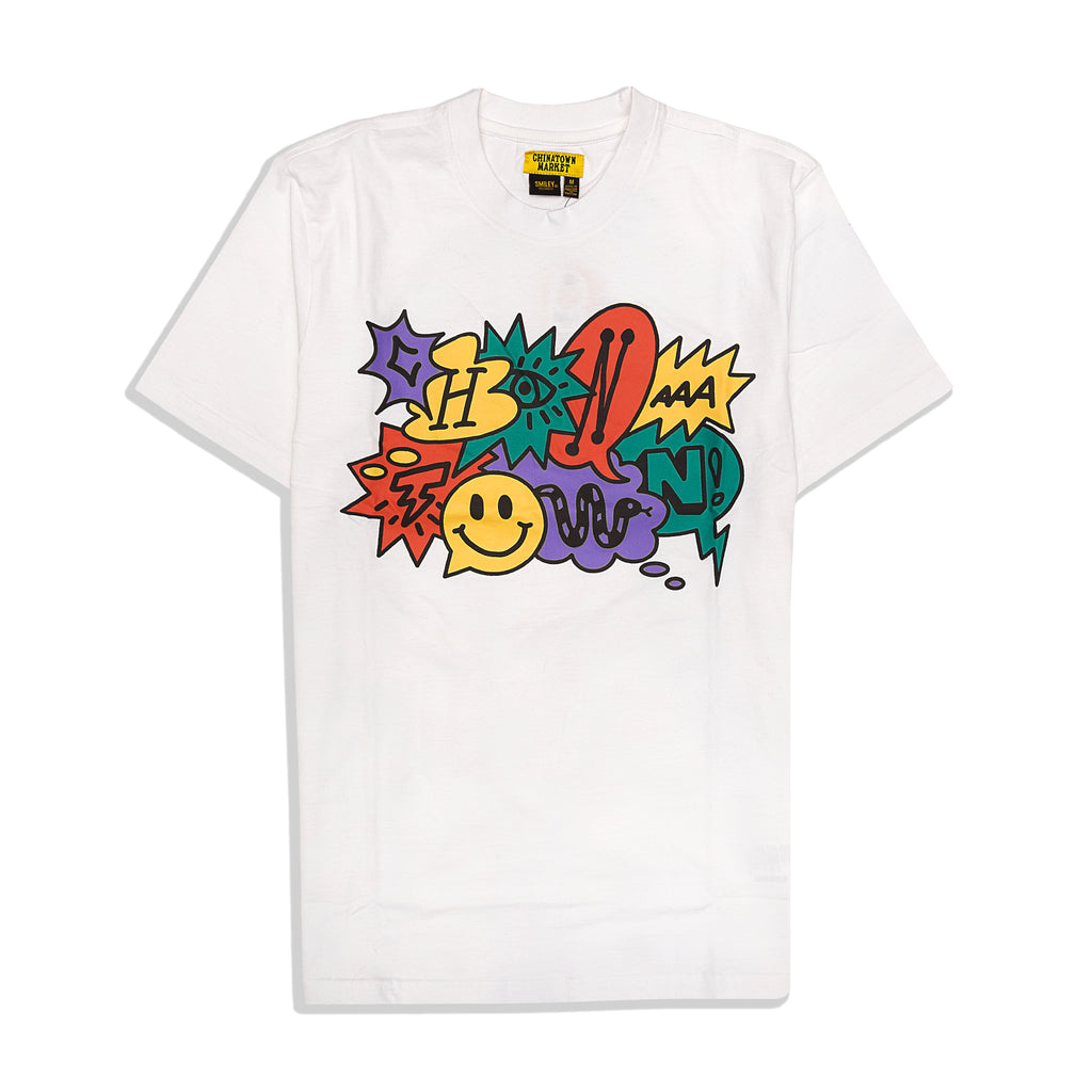 Chinatown Market - Smiley Speech Bubble Tee