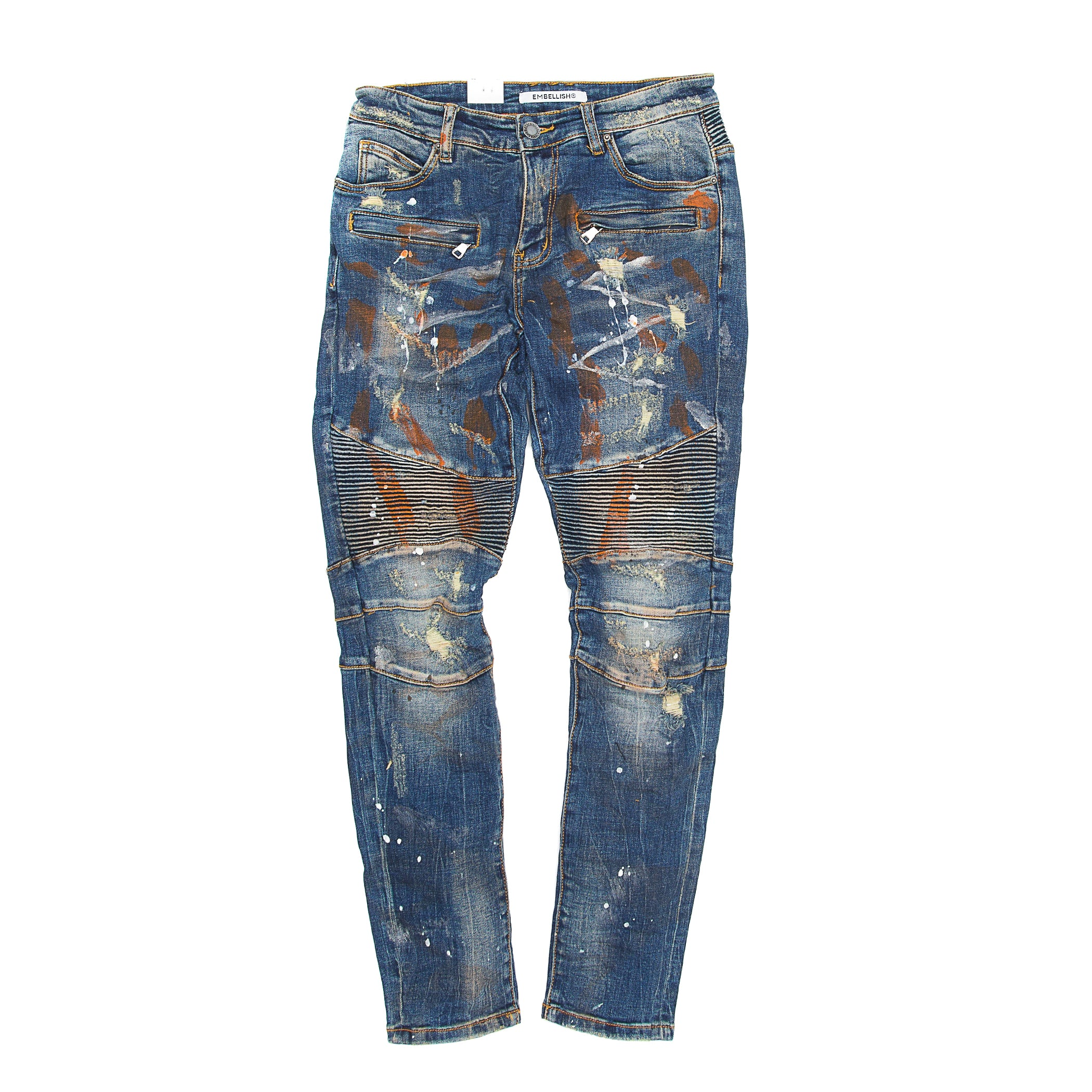 Embellish -  Odom Biker Denim