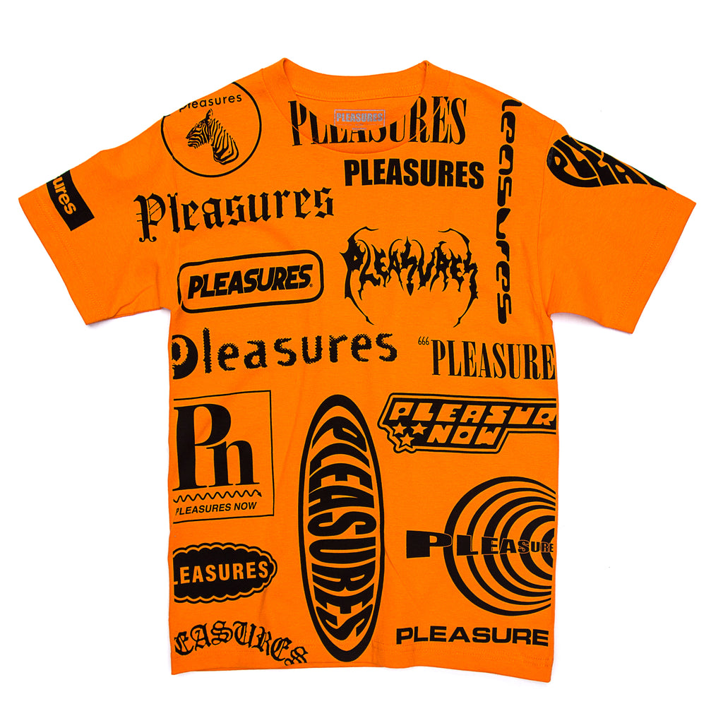 Pleasures - Logorama T-Shirt