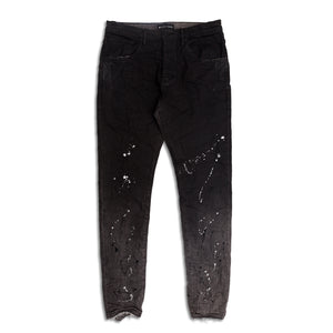 Purple Brand - Bleach Black Raw Jeans