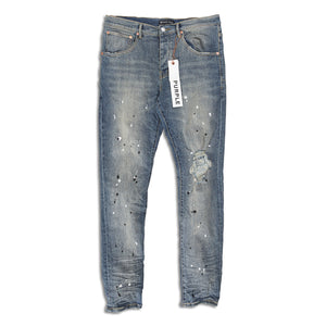 Purple Brand - Indigo Destroy Paint Jeans