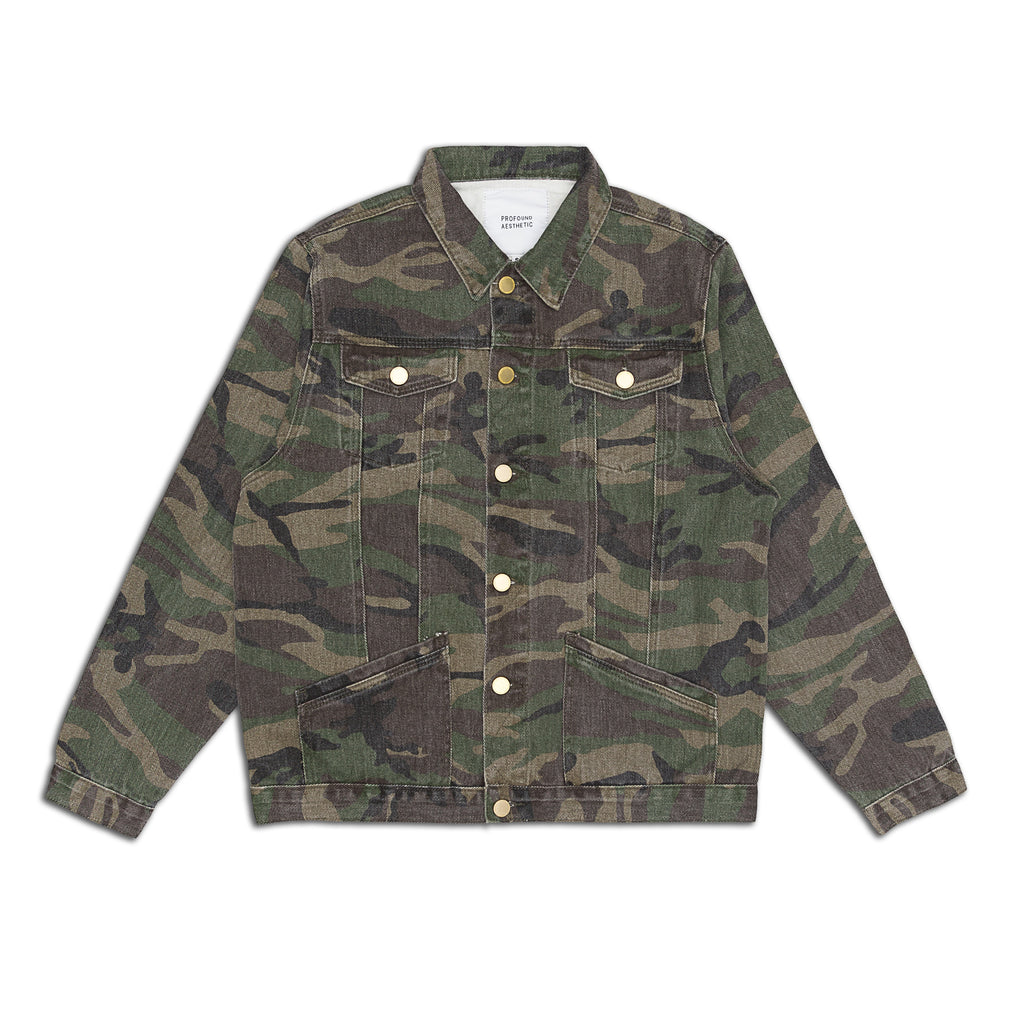 Profound Aesthetic - Washed Woodland Jacket