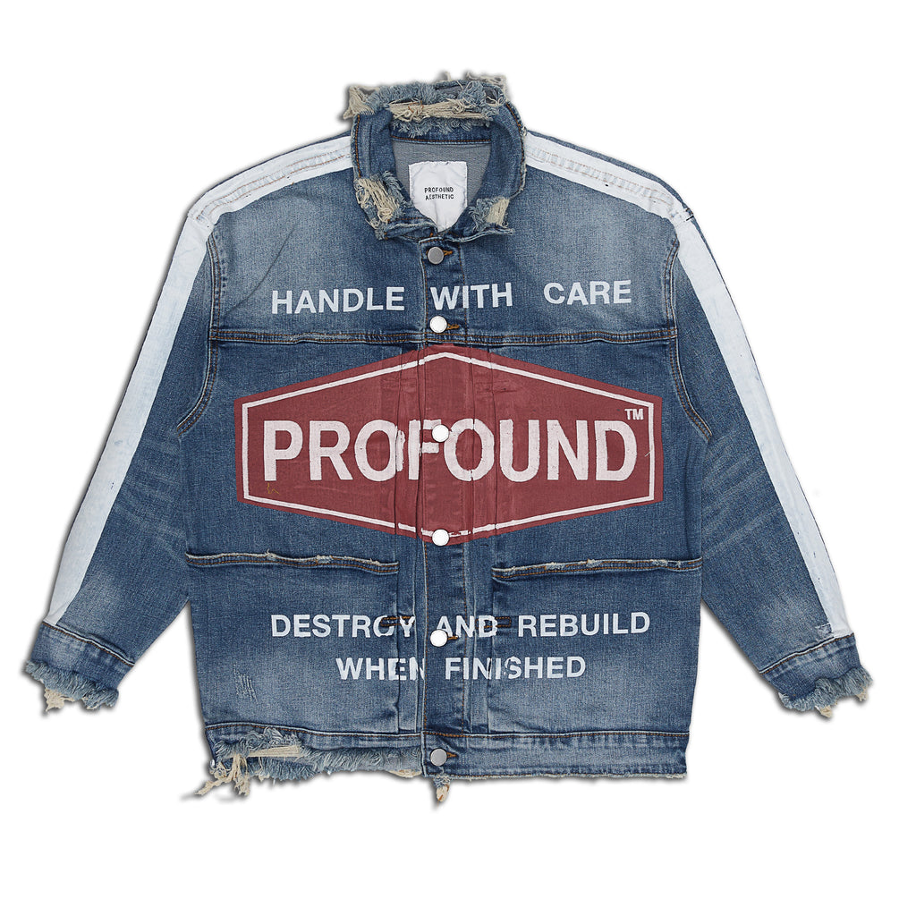 Profound Aesthetic - Destroy & Rebuild Denim Jacket