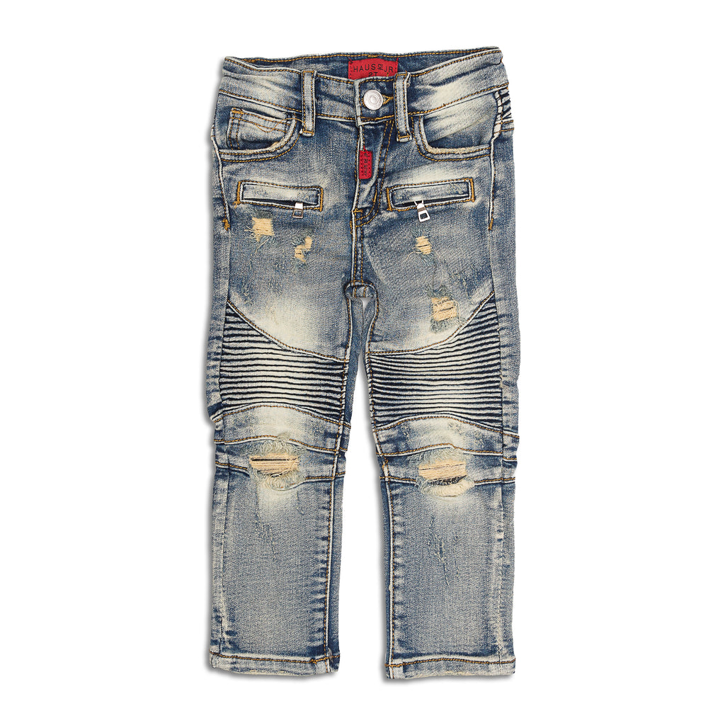 Haus of JR - Mateo Biker Denim