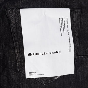 Purple Brand - Black Over Spray Jeans