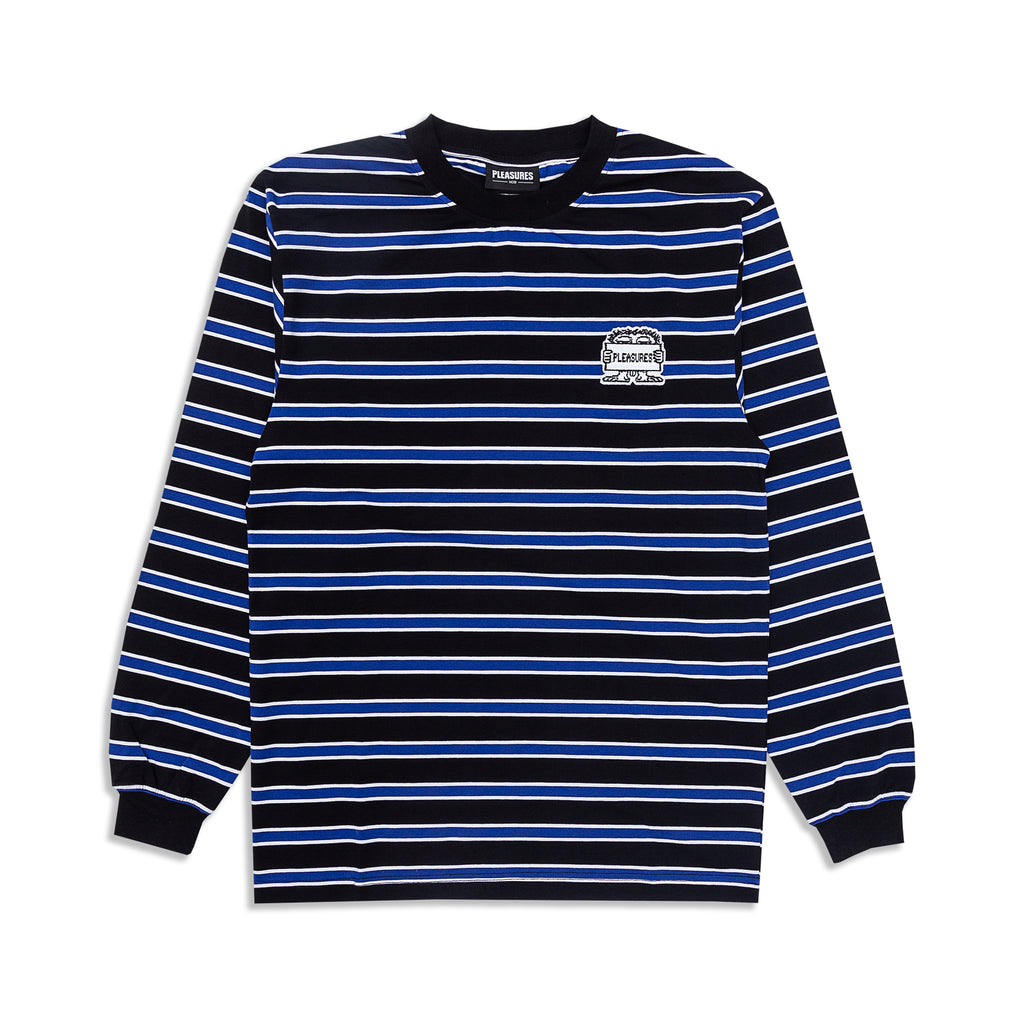 Pleasures - Hangman Premium Striped L/S Shirt