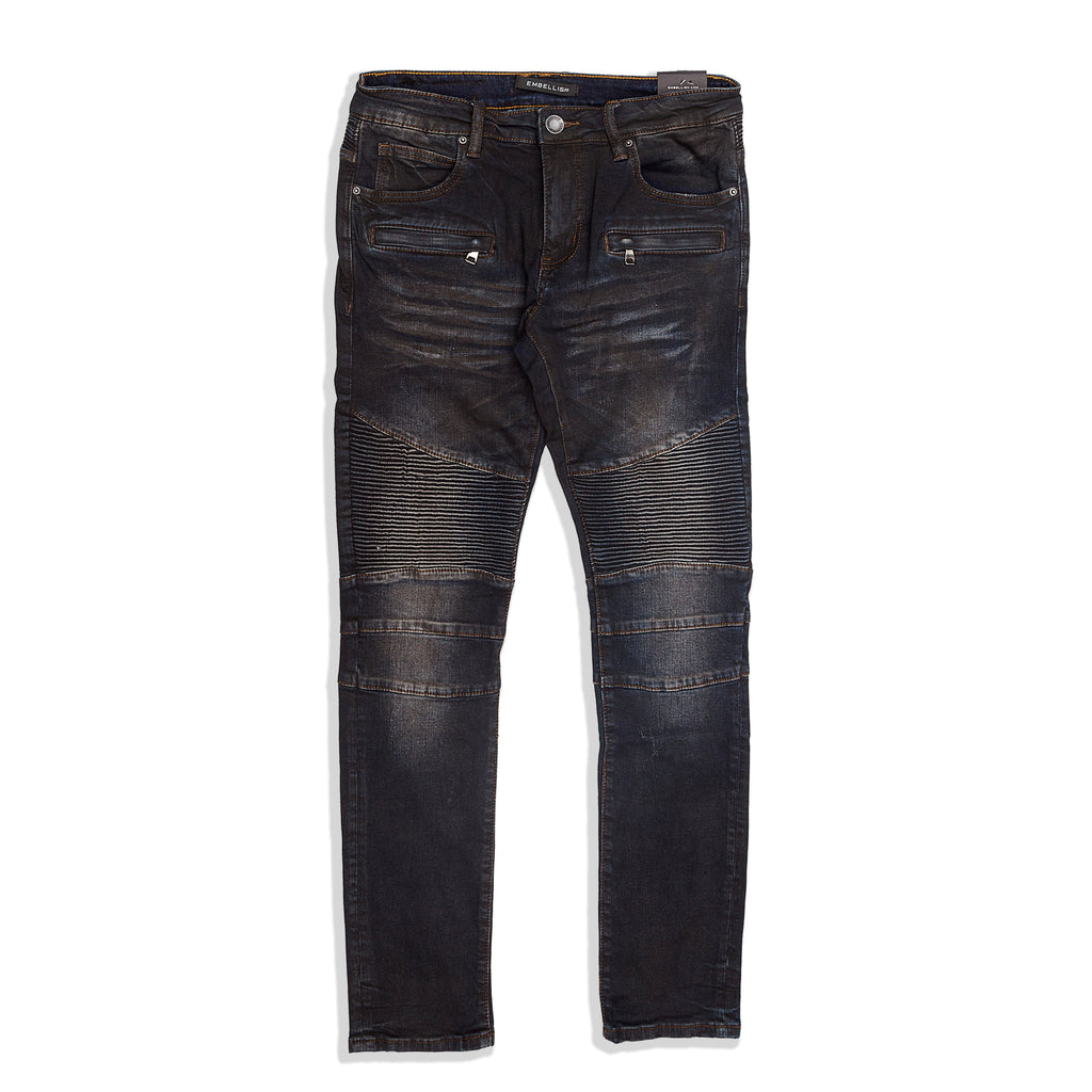 Embellish - Clemente Biker Denim
