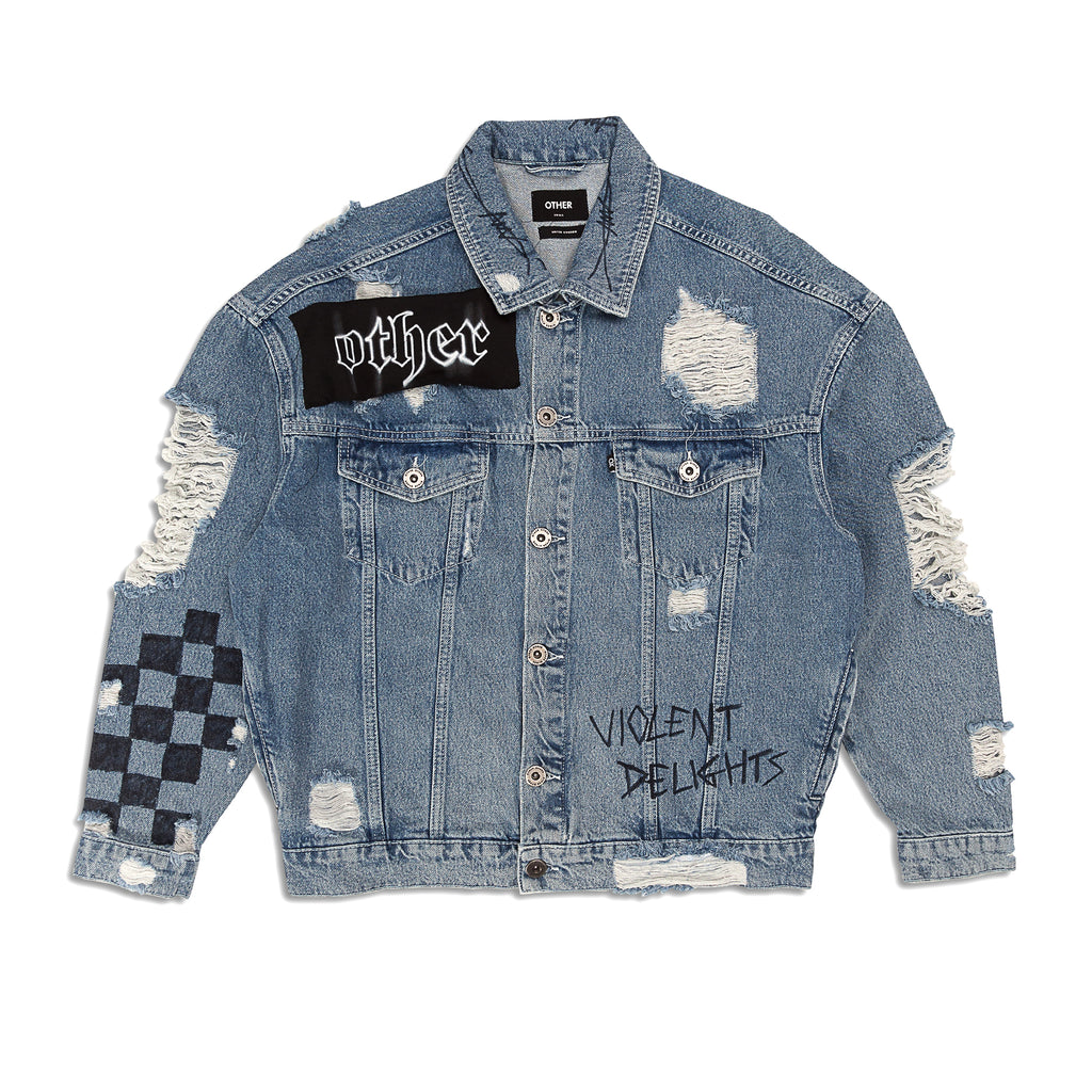 Other - Violent Delights Denim Jacket