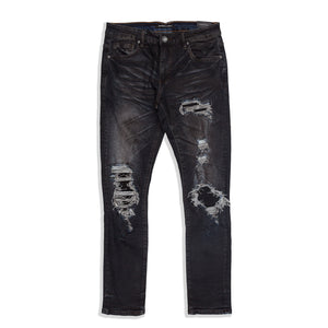 Embellish - Clemente Rip & Repair Denim
