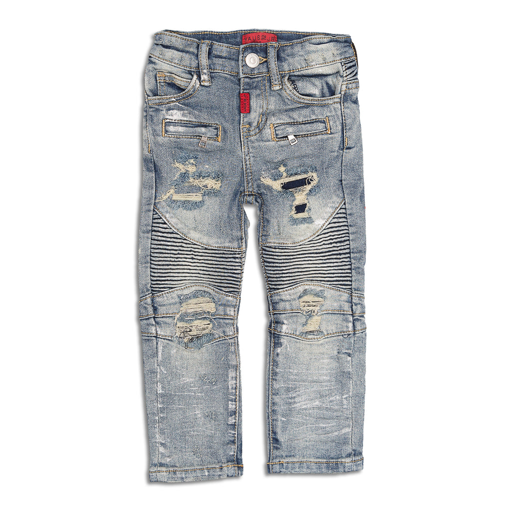 Haus of JR - Xavier Biker Denim