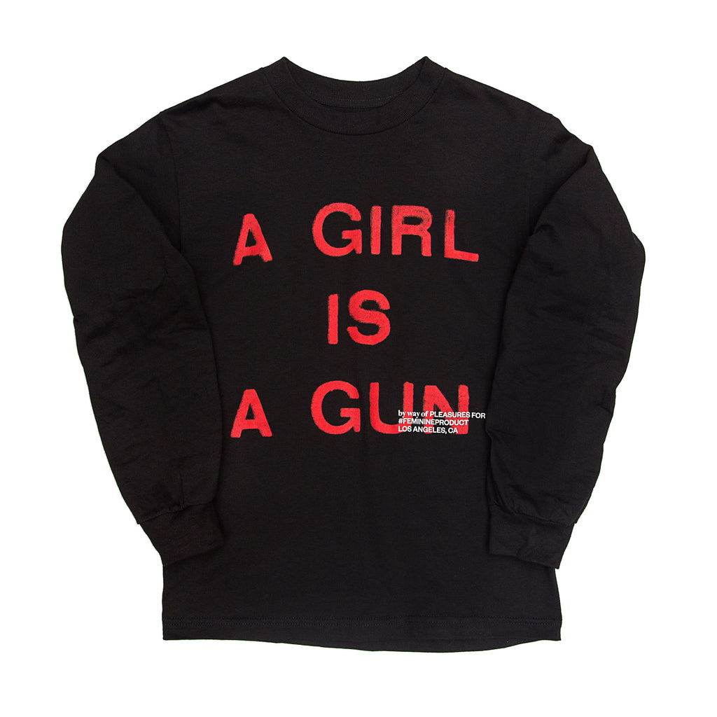 Pleasures - Girl Is A Gun L/S Tee