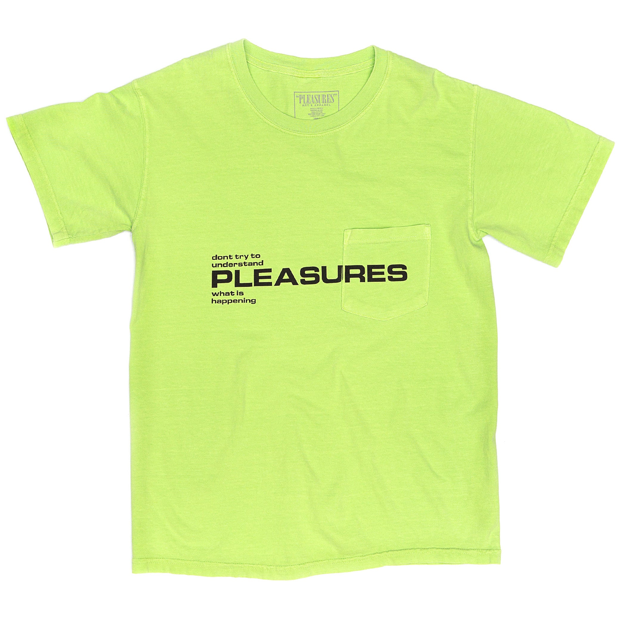 Pleasures - Don't Try Pocket T-Shirt