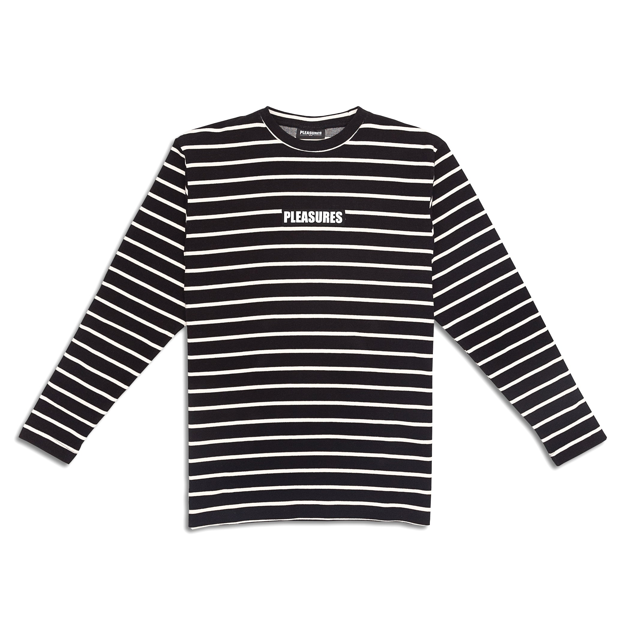 Pleasures - Vortex L/S Striped Shirt