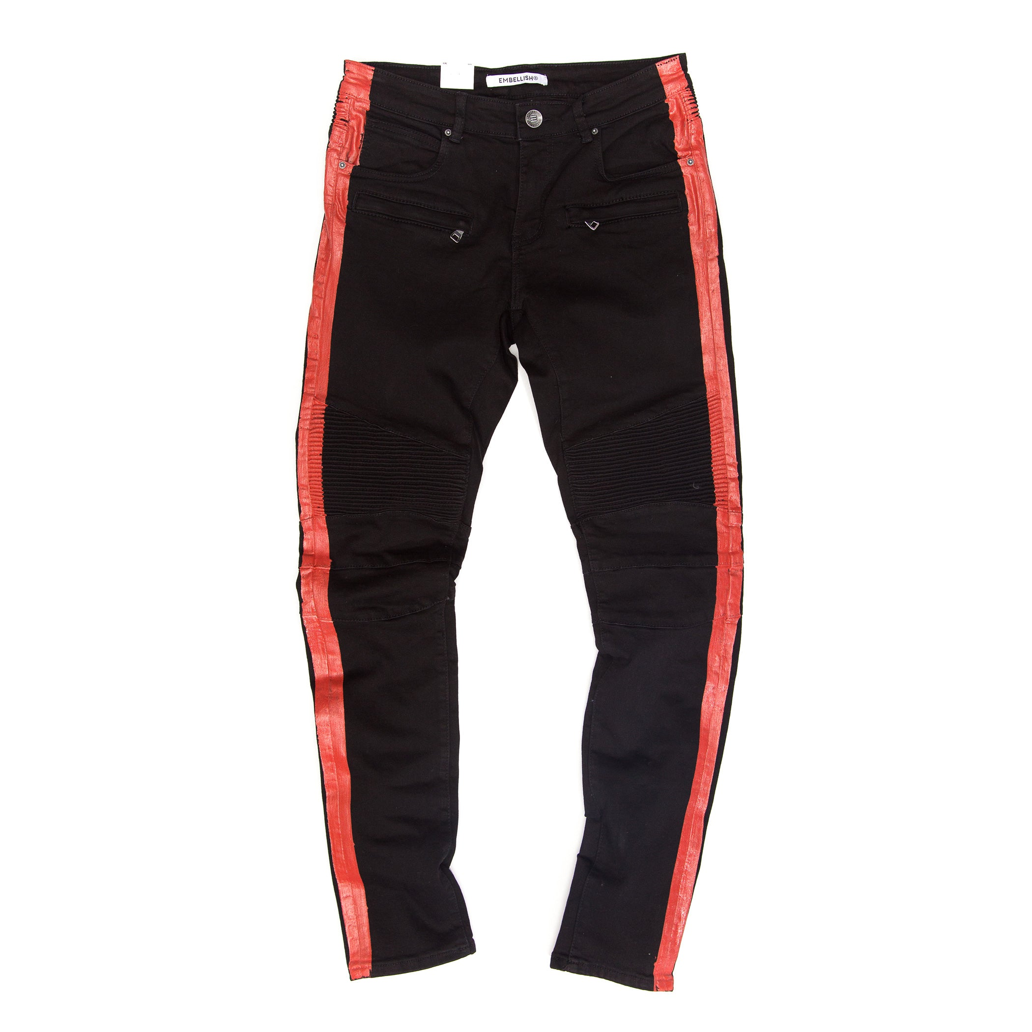 Embellish - Racer Biker Denim
