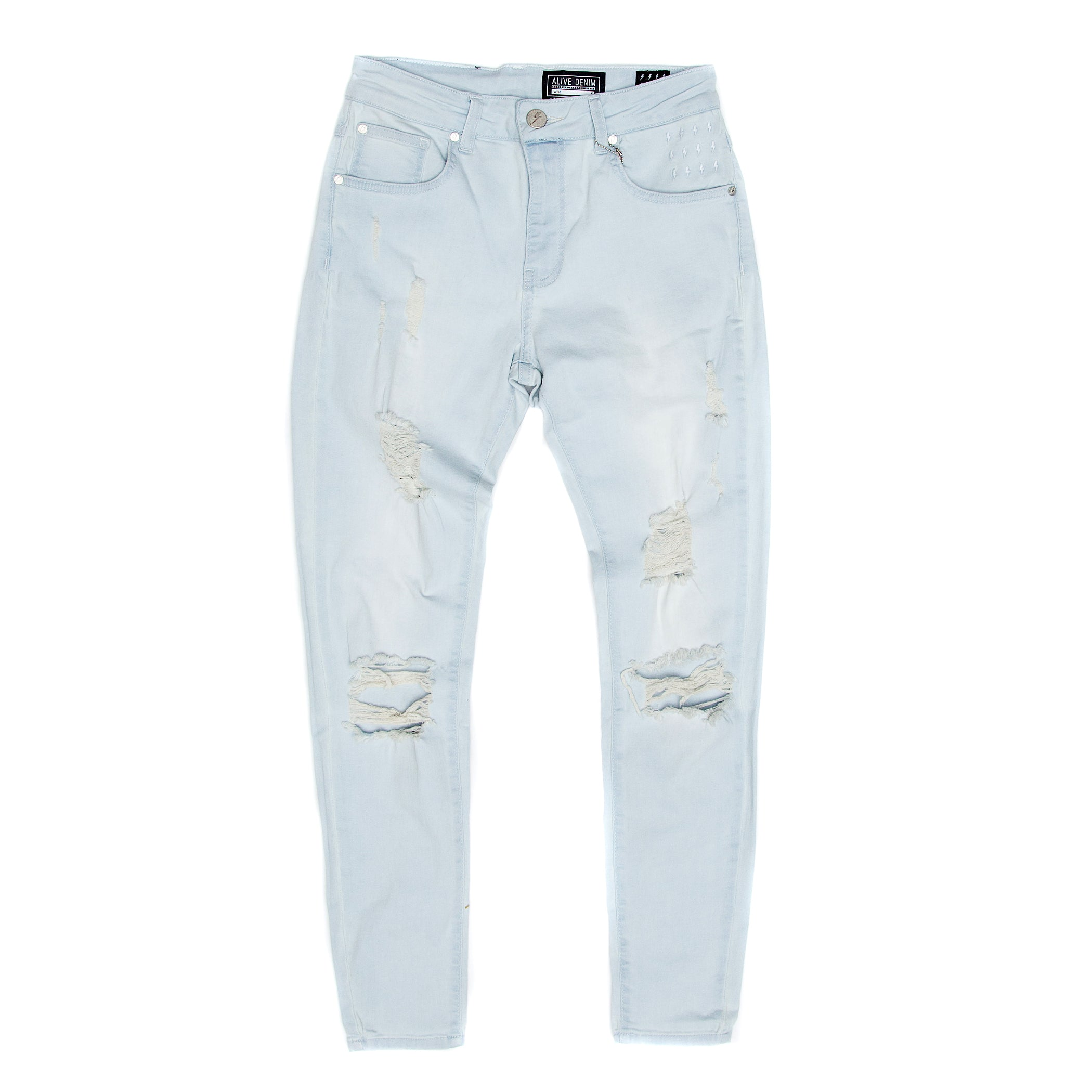 Alive Denim - Worn Jeans