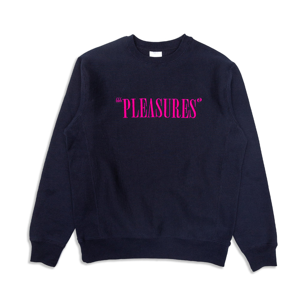 Pleasures - Balance Embroidered Premium Sweatshirt