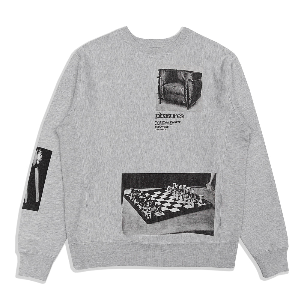 Pleasures - Deco Crewneck