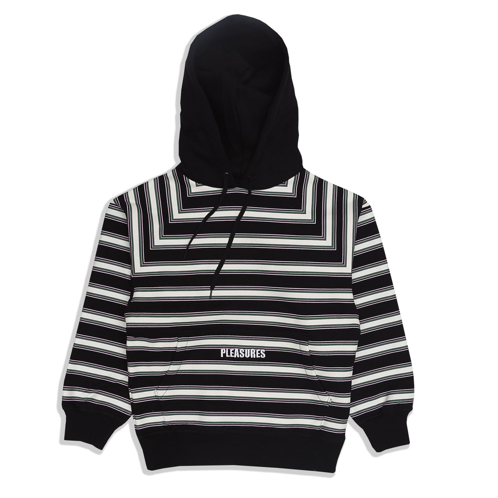 Pleasures - Lost Striped Hoodie