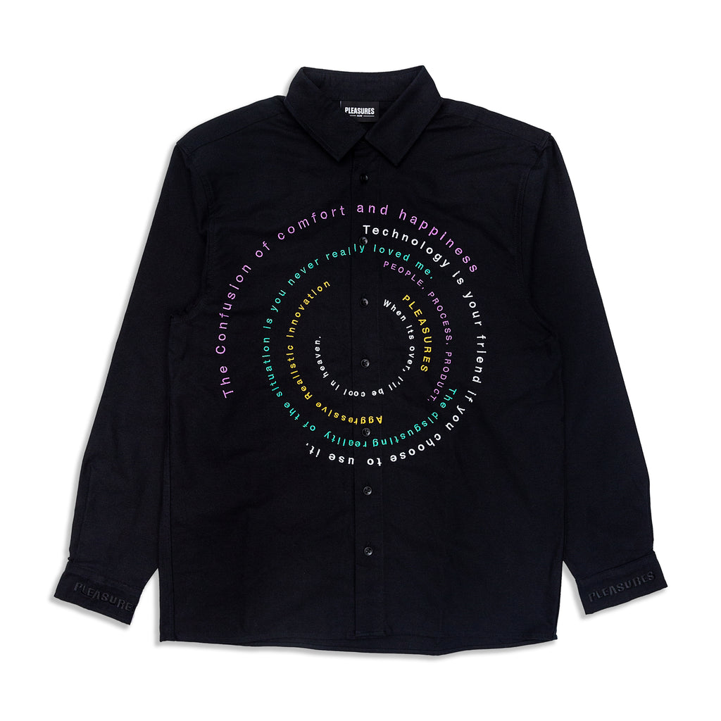 Pleasures - Reality Embroidered Button Down