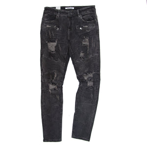 Embellish -  Cosmos Biker Denim