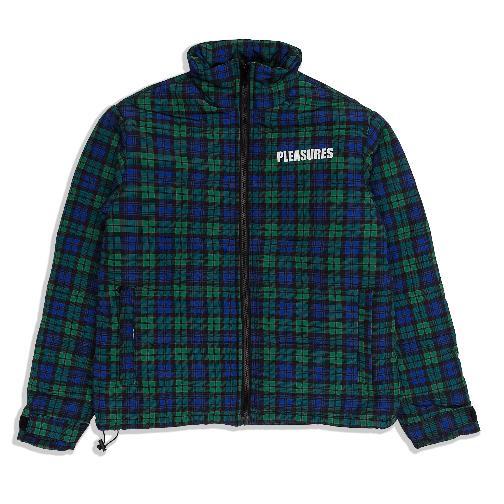 Pleasures - Decades Plaid Puffer Jacket