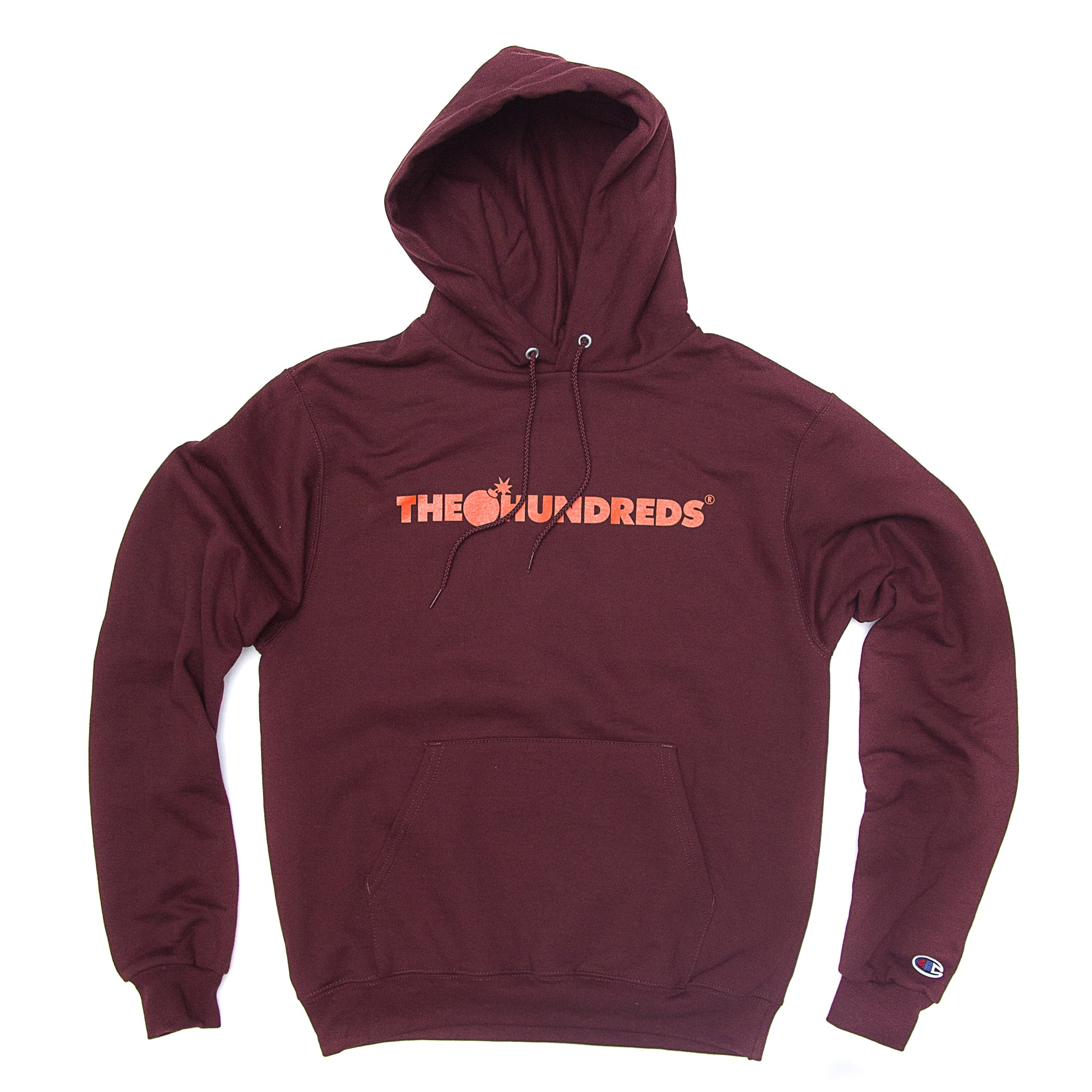 The Hundreds - Bar Logo Champion Hoodie