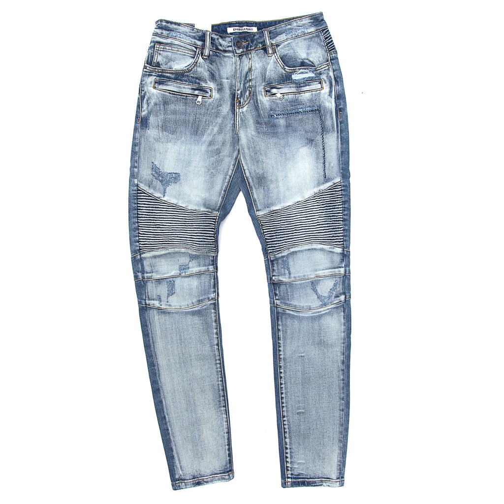 Embellish - Mercury Biker Denim