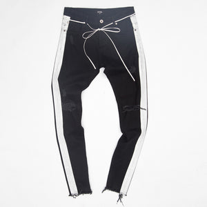 Other - White Stripe Jeans