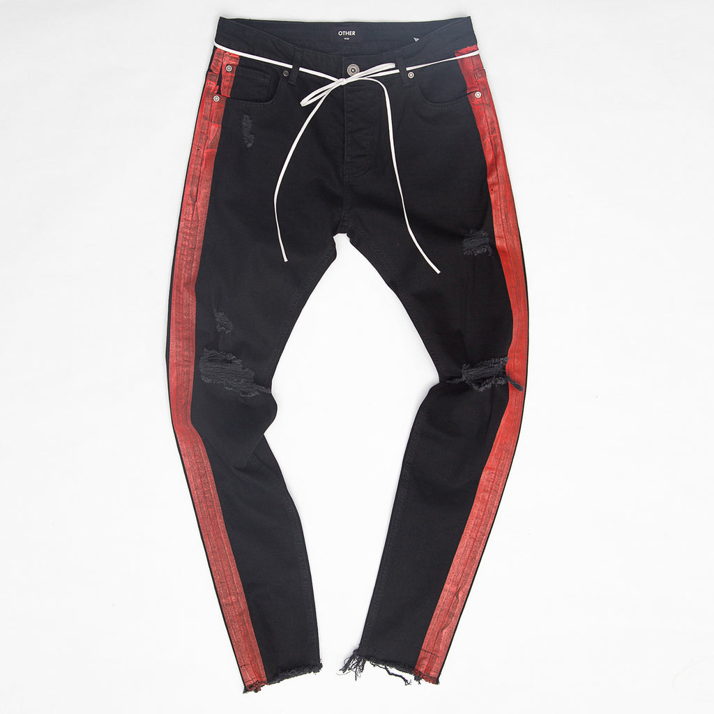 Other - Red Stripe Jeans