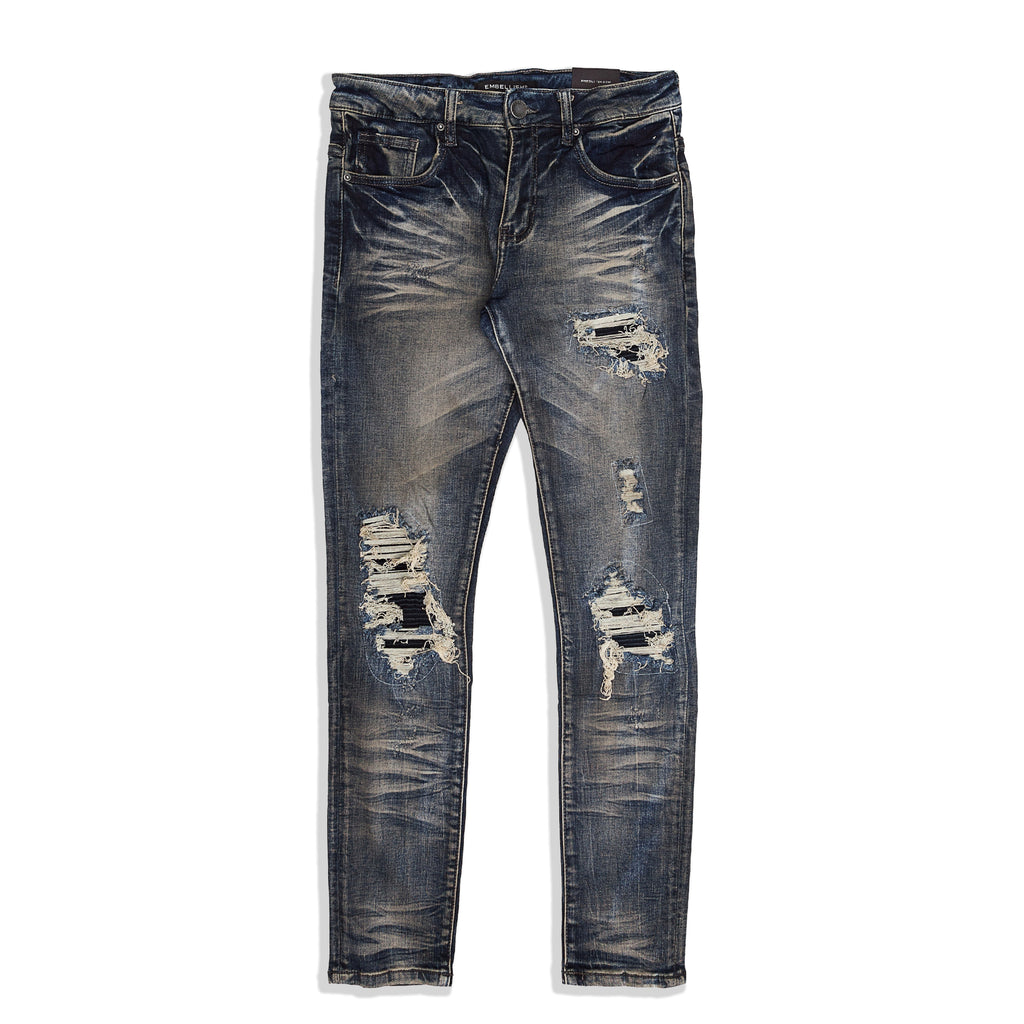 Embellish - Griffey Rip & Repair Denim