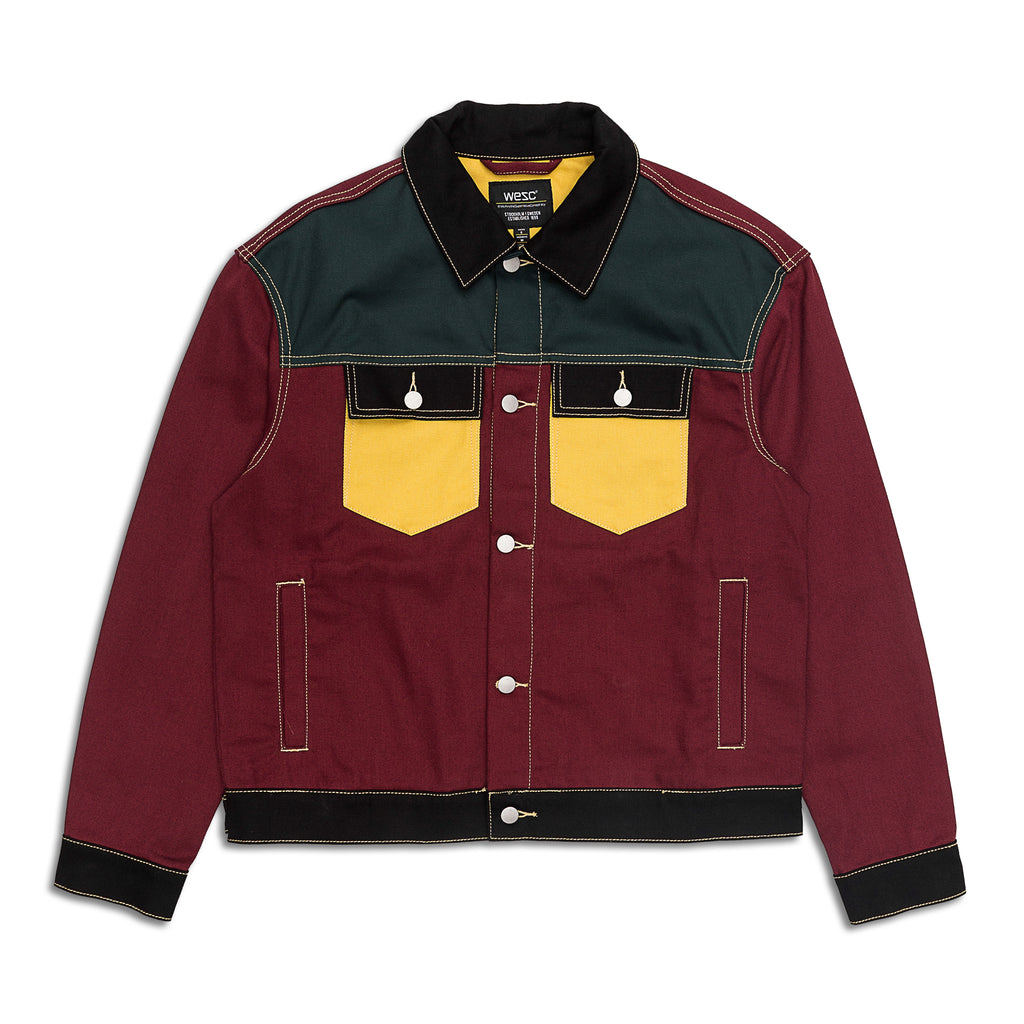 WeSC - Color Block Denim Jacket