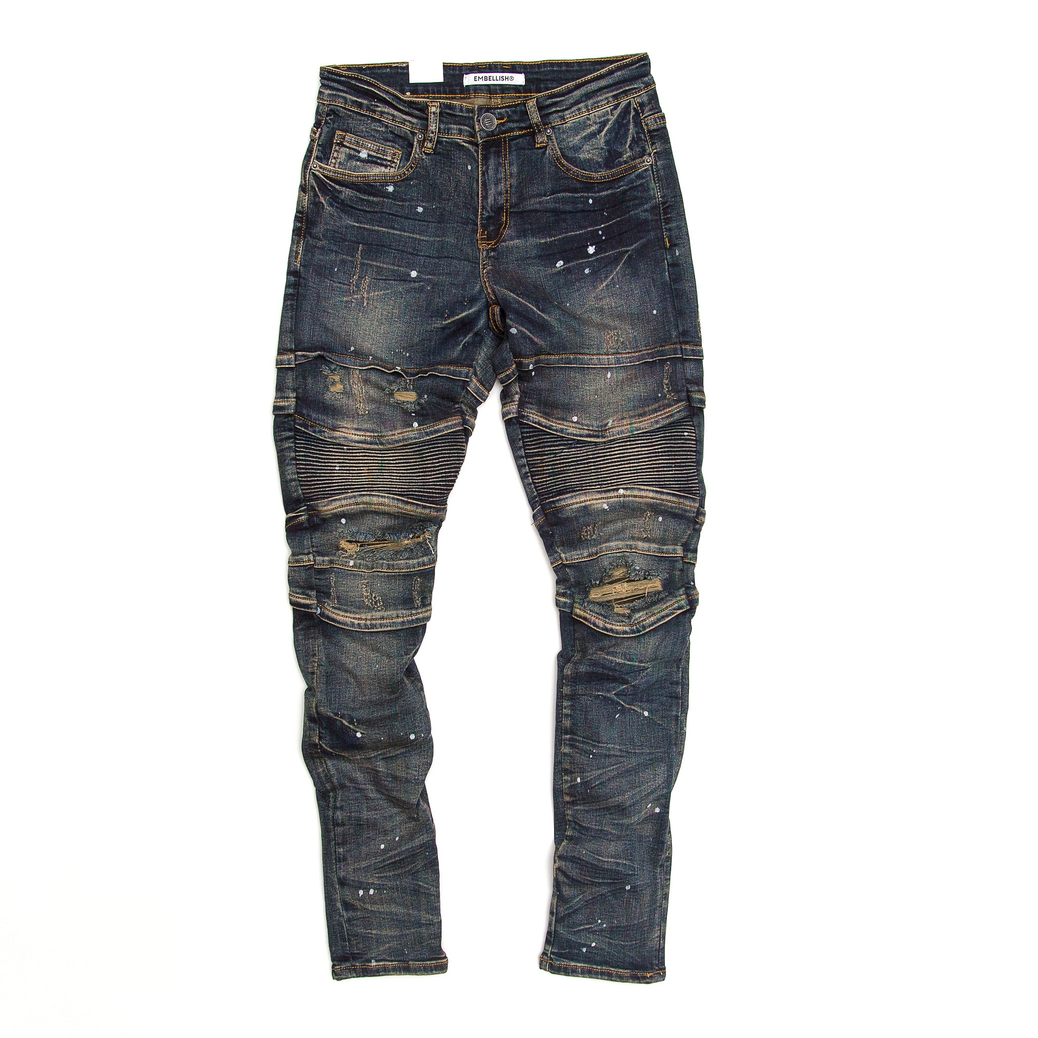 Embellish - Halen Biker Denim