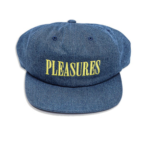 Pleasures - Core Logo Denim SnapBack