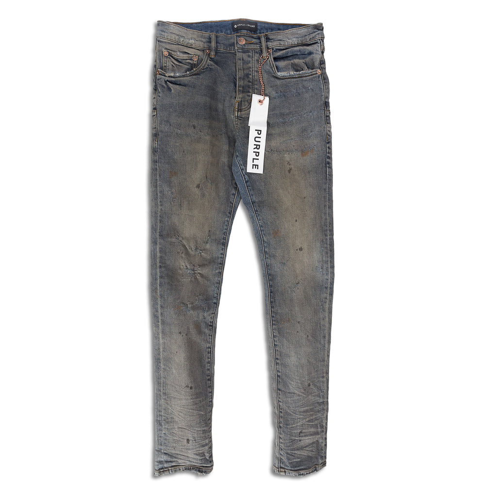 Purple Brand - Indigo Oil Repair Jeans
