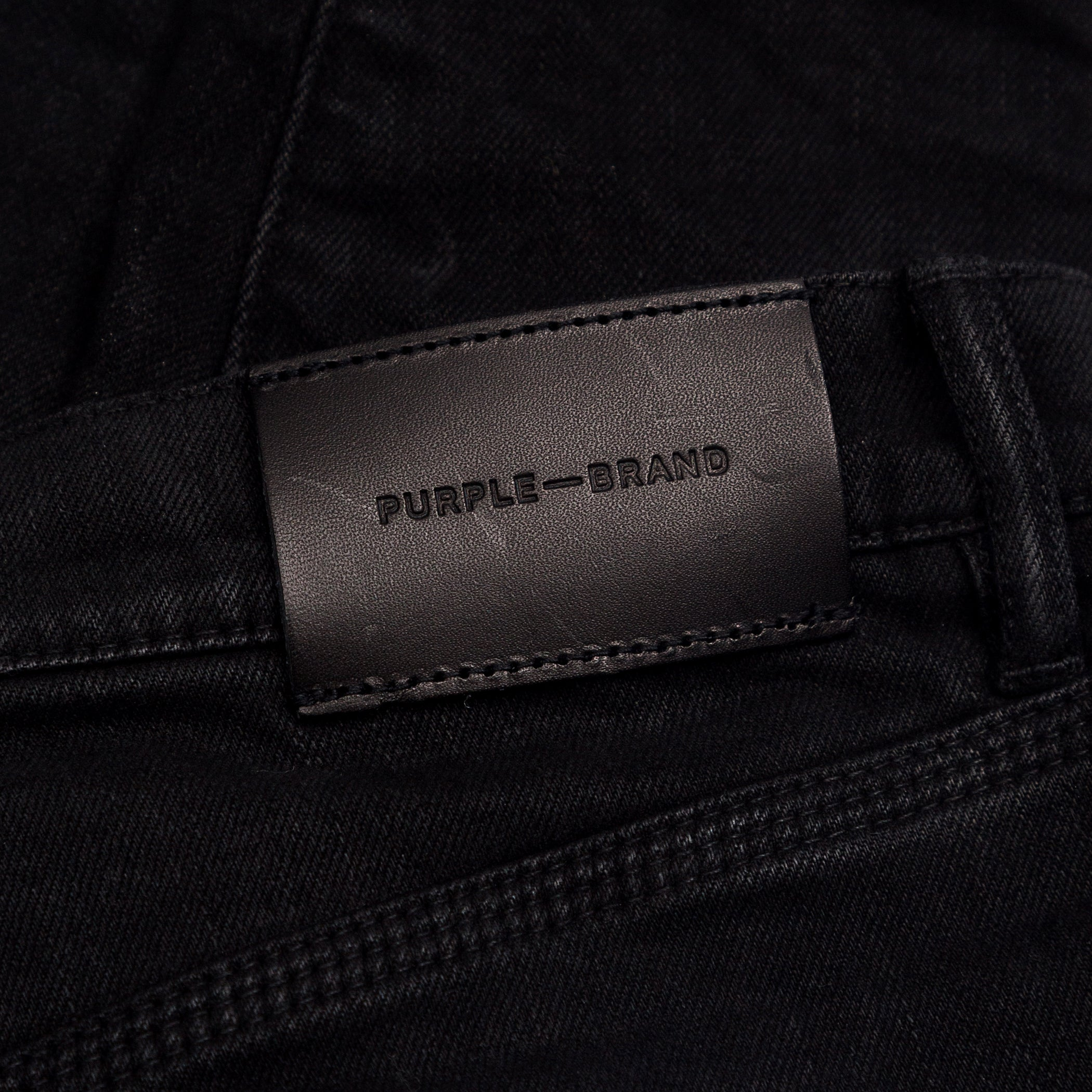 Purple Brand - Black Resin Jeans